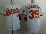 Baltimore Orioles #39 Kevin Gausman White Cool Base Stitched MLB Jersey