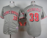 Cincinnati Reds #39 Devin Mesoraco Grey Cool Base Stitched MLB Jersey