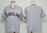 Cleveland Indians Blank Grey Cool Base Stitched MLB Jersey