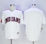 Cleveland Indians Blank White 1978 Turn Back The Clock Stitched MLB Jersey
