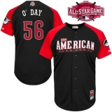 Baltimore Orioles #56 Darren O\'Day Black 2015 All-Star American League Stitched MLB Jersey