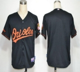 Baltimore Orioles Blank Black Cool Base Stitched MLB Jersey
