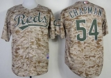 Cincinnati Reds #54 Aroldis Chapman Camo Alternate Cool Base Stitched MLB Jersey