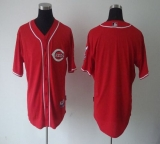 Cincinnati Reds Blank Red Cool Base Stitched MLB Jersey