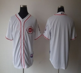 Cincinnati Reds Blank White Home Cool Base Stitched MLB Jersey