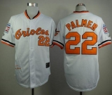Mitchell And Ness 1970 Baltimore Orioles #22 Jim Palmer White Throwback Stitched MLB Jersey