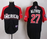 Houston Astros #27 Jose Altuve Black 2015 All-Star American League Stitched MLB Jersey