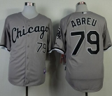 Chicago White Sox #79 Jose Abreu Grey Cool Base Stitched MLB Jerseys