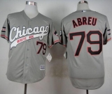 Chicago White Sox #79 Jose Abreu Grey New Cool Base Stitched MLB Jersey