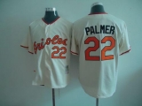 Mitchell And Ness Baltimore Orioles #22 Jim Palmer Cream Throwback Stitched MLB Jersey