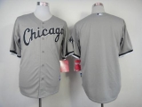 Chicago White Sox Blank Grey Cool Base Stitched MLB Jersey