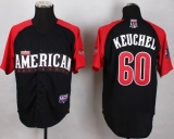 Houston Astros #60 Dallas Keuchel Black 2015 All-Star American League Stitched MLB Jersey