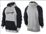 Chicago White Sox Pullover Hoodie Grey & Black