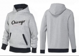 Chicago White Sox Pullover Hoodie Grey