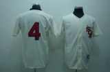 Mitchell and Ness Chicago White Sox #4 Luke Appling Stitched Cream Throwback MLB Jersey