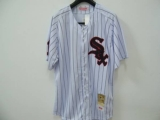 Mitchell and Ness Chicago White Sox #11 Luis Aparicio Stitched White Throwback MLB Jersey
