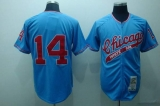 Mitchell and Ness Chicago White Sox #14 Bill Melton Stitched Blue Throwback MLB Jersey