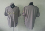 Miami Marlins Blank Grey USMC Cool Base Stitched MLB Jersey