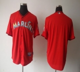 Miami Marlins Blank Red 2012 Alternate Stitched MLB Jersey