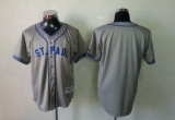 Minnesota Twins Blank Grey 1948 St Paul Saints Turn Back The Clock Stitched MLB Jersey