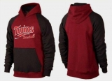 Minnesota Twins Pullover Hoodie Burgundy Red & Black