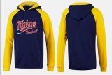 Minnesota Twins Pullover Hoodie Dark Blue & Yellow