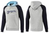 Milwaukee Brewers Pullover Hoodie Grey & Blue