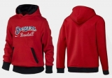 Milwaukee Brewers Pullover Hoodie Red & Black