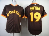 San Diego Padres #19 Tony Gwynn Coffee 1984 Turn Back The Clock Stitched MLB Jersey
