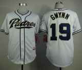 San Diego Padres #19 Tony Gwynn White Home Cool Base Stitched MLB Jersey