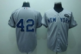 New York Yankees #42 Mariano Rivera Grey GMS The Boss Stitched MLB Jersey