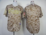 San Diego Padres Blank Camo Alternate 2 Cool Base Stitched MLB Jersey