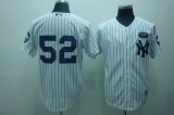 New York Yankees #52 C C Sabathia White GMS The Boss Stitched MLB Jersey