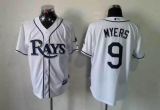 Tampa Bay Rays #9 Wil Myers White Cool Base Stitched MLB Jersey
