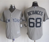 New York Yankees #68 Dellin Betances Grey New Cool Base Stitched MLB Jersey