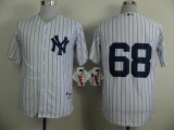 New York Yankees #68 Dellin Betances White Stitched MLB Jersey