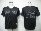 New York Yankees #72 Dellin Betances Black GMS  The Boss  Cool Base Stitched MLB Jersey