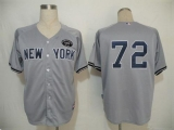 New York Yankees #72 Dellin Betances Grey GMS  The Boss  Cool Base Stitched MLB Jersey