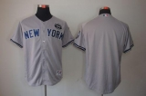 New York Yankees Blank Grey GMS  The Boss Stitched MLB Jersey