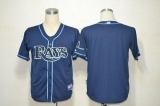 Tampa Bay Rays Blank Dark Blue Cool Base Stitched MLB Jersey