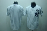 New York Yankees White Blank GMS  The Boss Stitched MLB Jersey