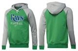 Tampa Bay Rays Pullover Hoodie Green & Grey