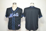 New York Mets Blank Black Alternate Cool Base Stitched MLB Jersey