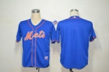 New York Mets Blank Blue Alternate Home Cool Base Stitched MLB Jersey