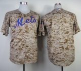 New York Mets Blank Camo Alternate Cool Base Stitched MLB Jersey