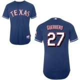Texas Rangers #27 Vladimir Guerrero Stitched Blue MLB Jersey