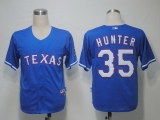 Texas Rangers #35 Tommy Hunter Blue Cool Base Stitched MLB Jersey