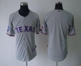 Texas Rangers Blank Grey 40th Anniversary Patch Cool Base Stitched MLB Jersey