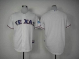 Texas Rangers Blank White Cool Base Stitched MLB Jersey