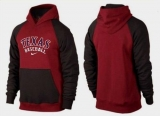 Texas Rangers Pullover Hoodie Burgundy Red & Black